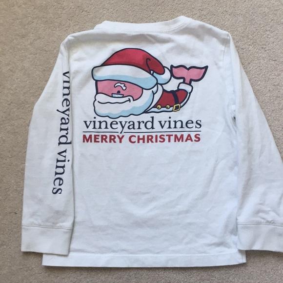 Vineyard Vines Christmas Shirt 2019.Vineyard Vines Christmas Long Sleeves Shirt Kid 4t